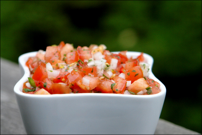 Salsa pico de gallo