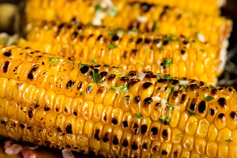 Mazorcas de maíz – Elotes asados